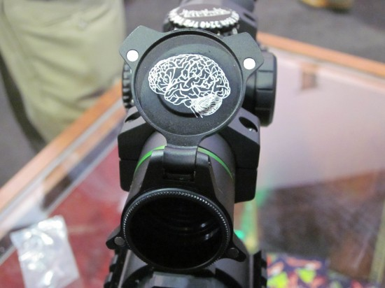 GearExpert Leupold Zombie Scope at SHOT Show