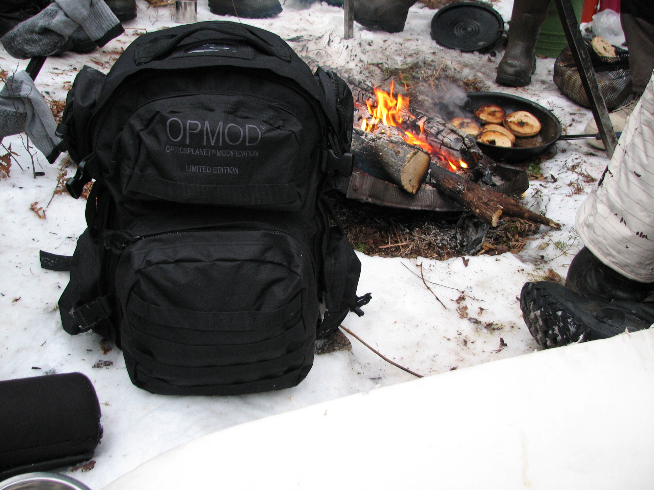Fireside with OPMOD Bag