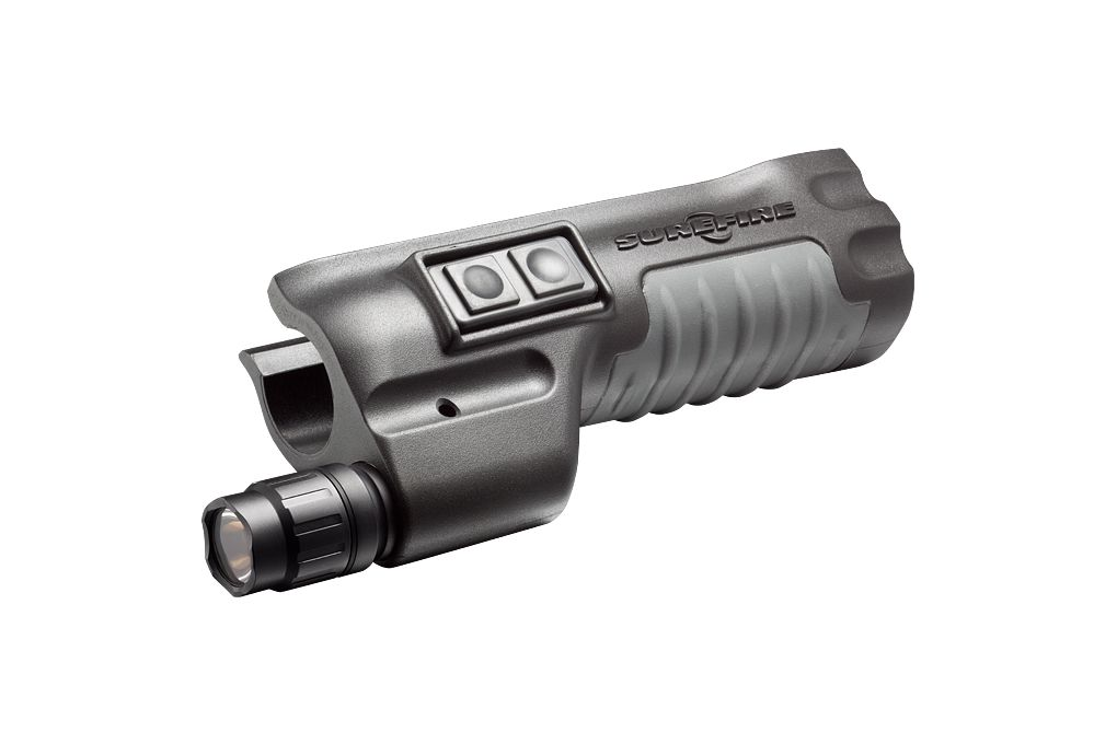SureFire Mossberg Forend Weaponlight  sc 1 st  Optics Planet & SureFire Mossberg 500/590 Shotgun Forend Weaponlight Combines ...