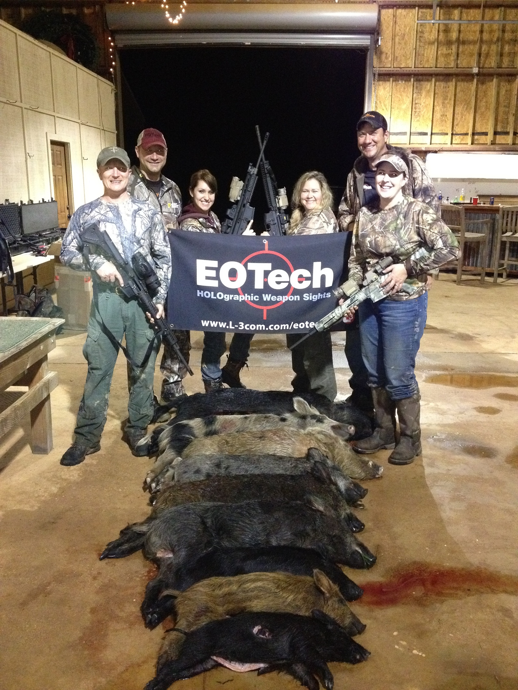 EOTech Hunt Group Photo