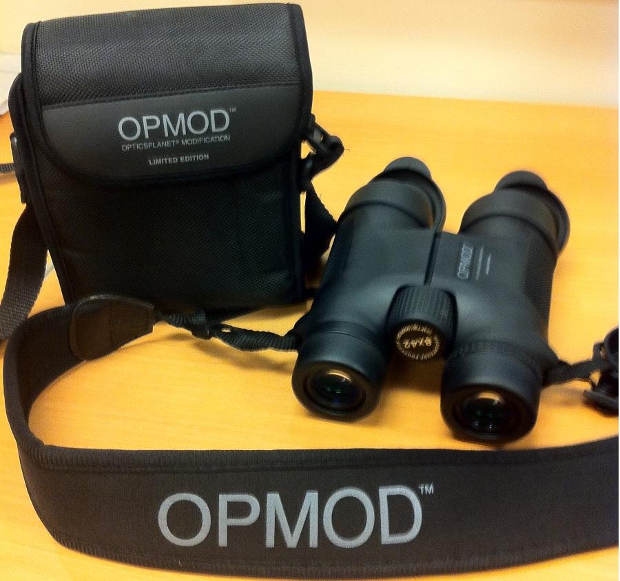 OPMOD Binoculars and Case for GearExpert