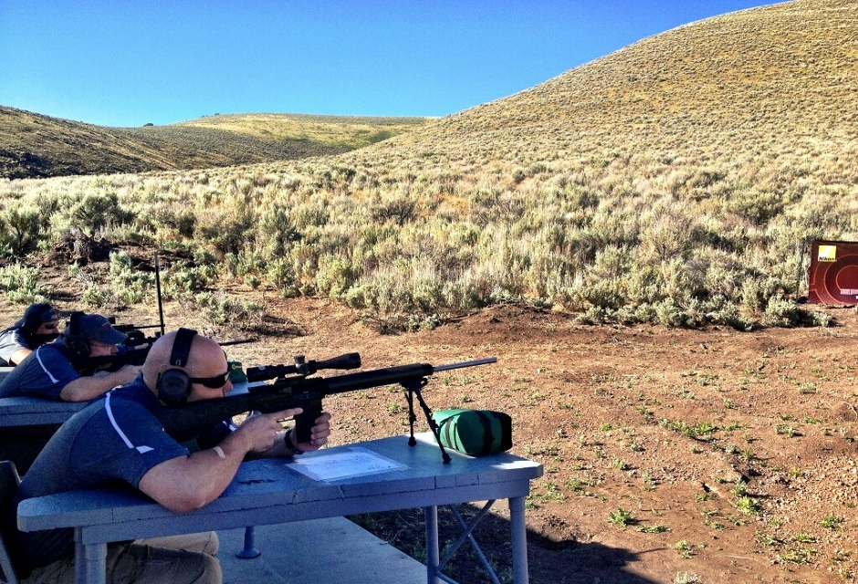 Trevor Shooting a 308