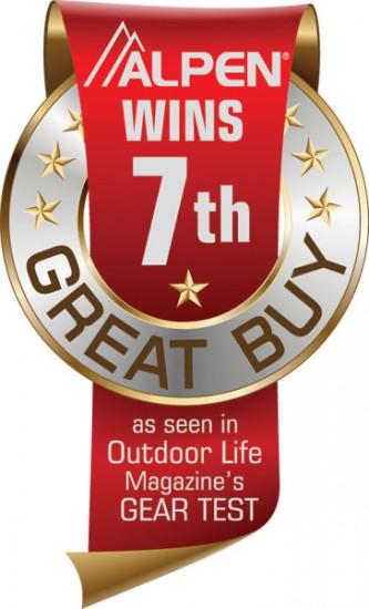 Alpen Outdoor Life Magazine Great Buy Award