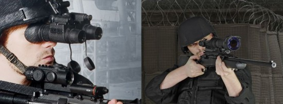 ATN Night Vision Headgear or Rifle Mounted