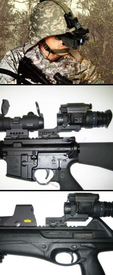 Whatever you mounted your PVS-14 on you can Mount Your Odin!