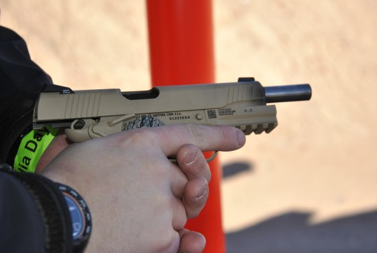 The Colt USMC from Media Day at SHOT Show 2013