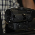 The Pulsar DFA 75 comes with an IR Laser for more accurate shooting