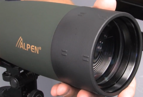 Alpen 20-60x80 Spotting Scope with SunShade