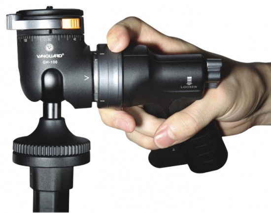Vanguard Alta Plus Pistol Grip Tripod Head
