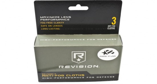 revision anti fog cloth kit