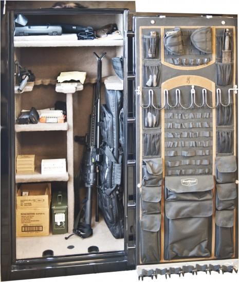 Inside of a Gun Safe