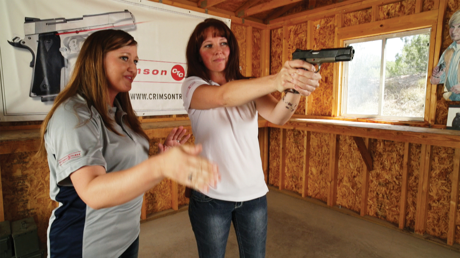 Training With Lasers at Gunsite