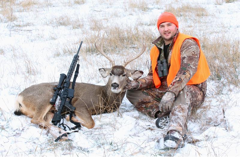 Trevor bags a buck