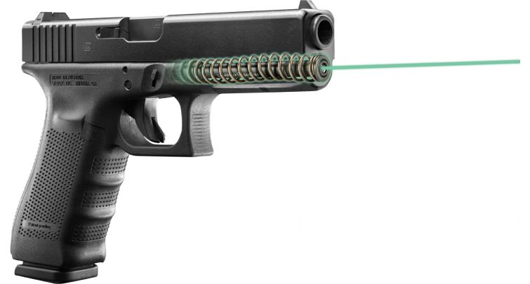 LaserMaxx Glock Green Laser Guide Rod