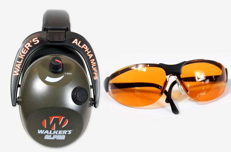 Walkers Alpha Muff and Browning Claymaster Glasses