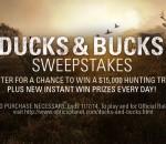 Ducks & Bucks Sweepstakes