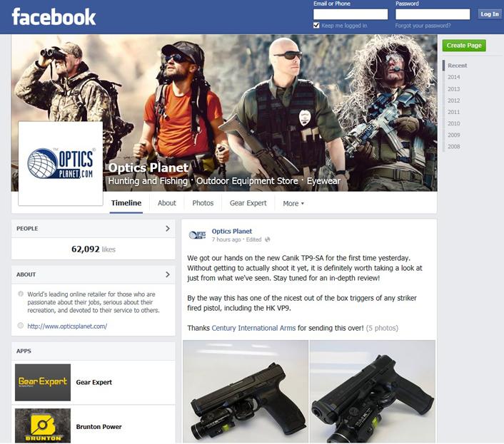 OP facebook screenshot