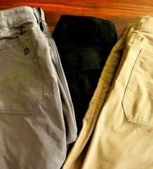 Not So Tactical Pant Showdown