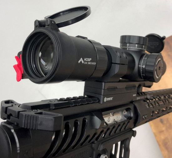 Primary Arms Platinum Series 1-8X24mm Riflescope with ACSS Reticle