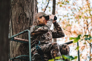 deer hunting binocular magnification