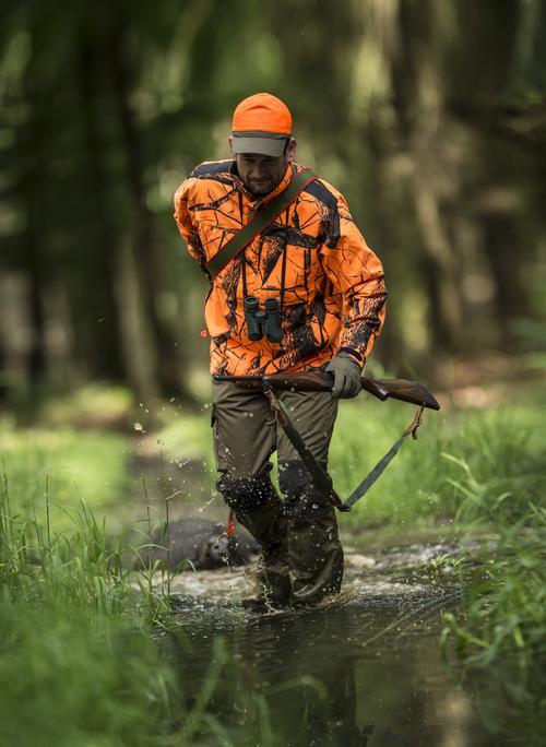 blaze orange hunting camo clothes