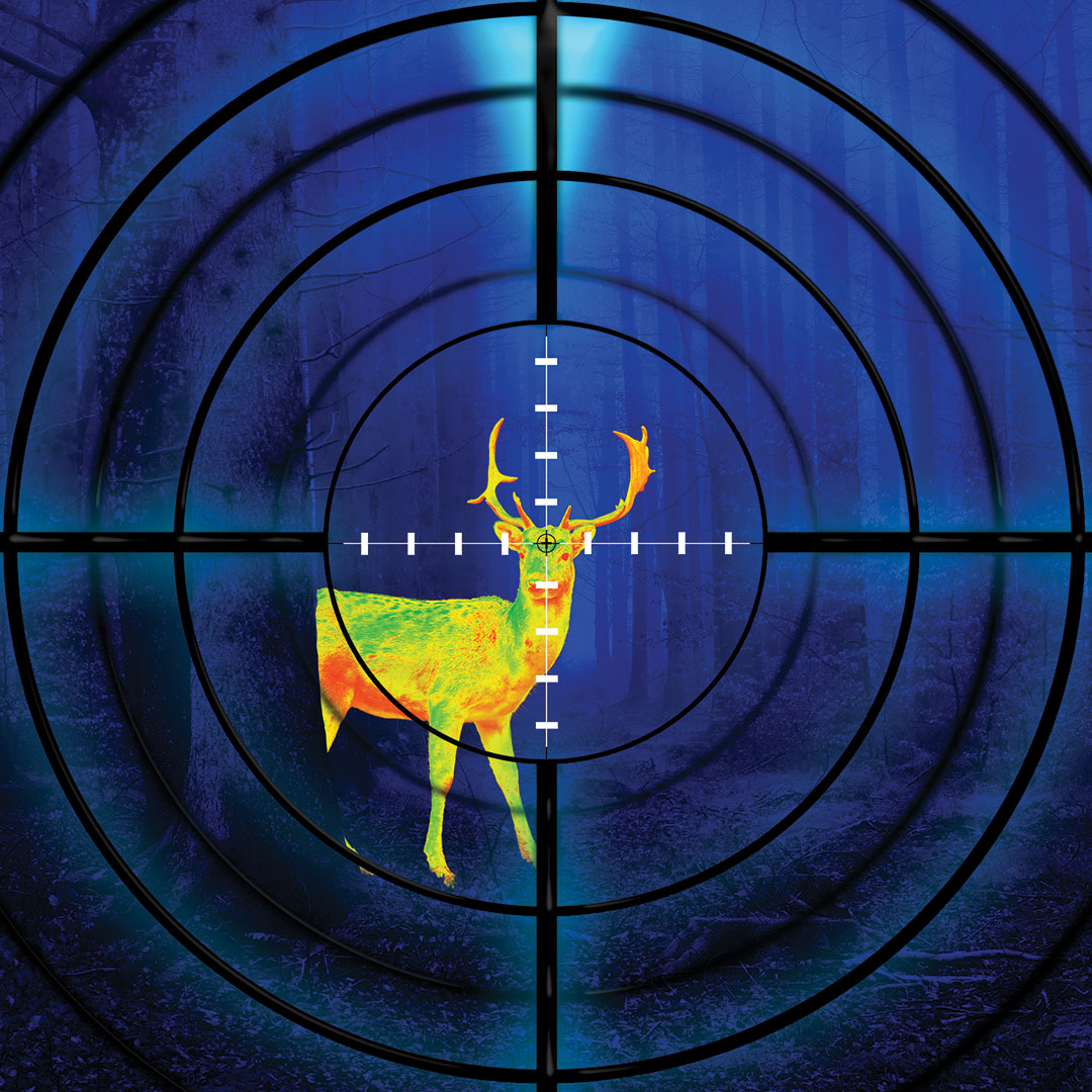 hunting with thermal imaging scope