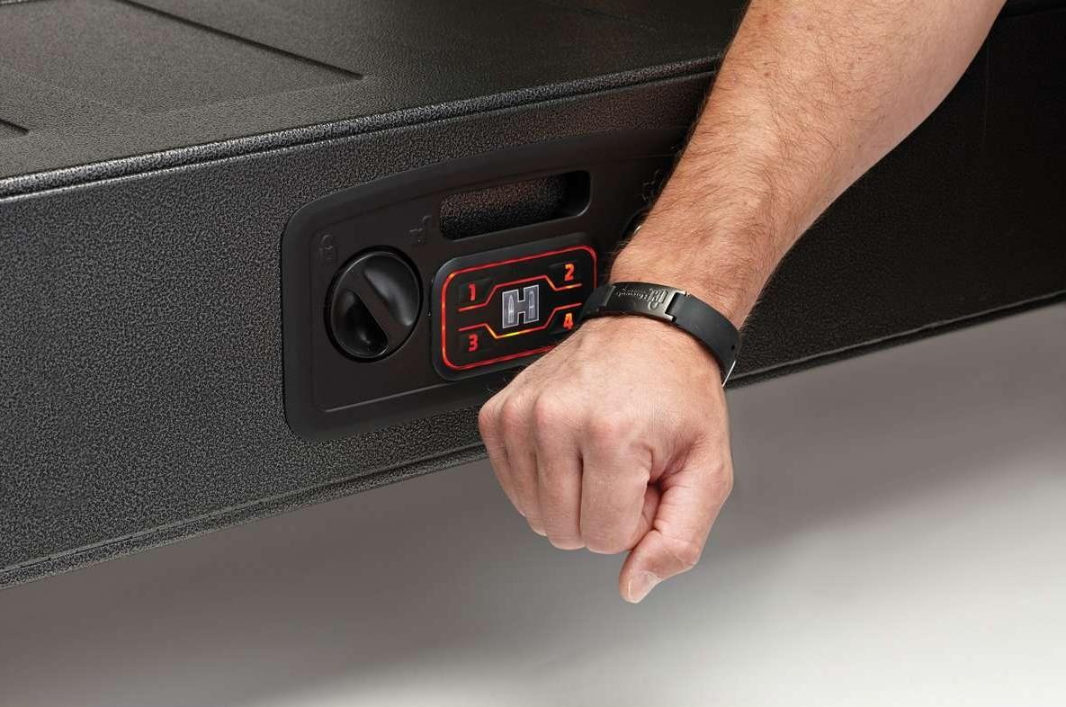 RFID chip opening a gun safe