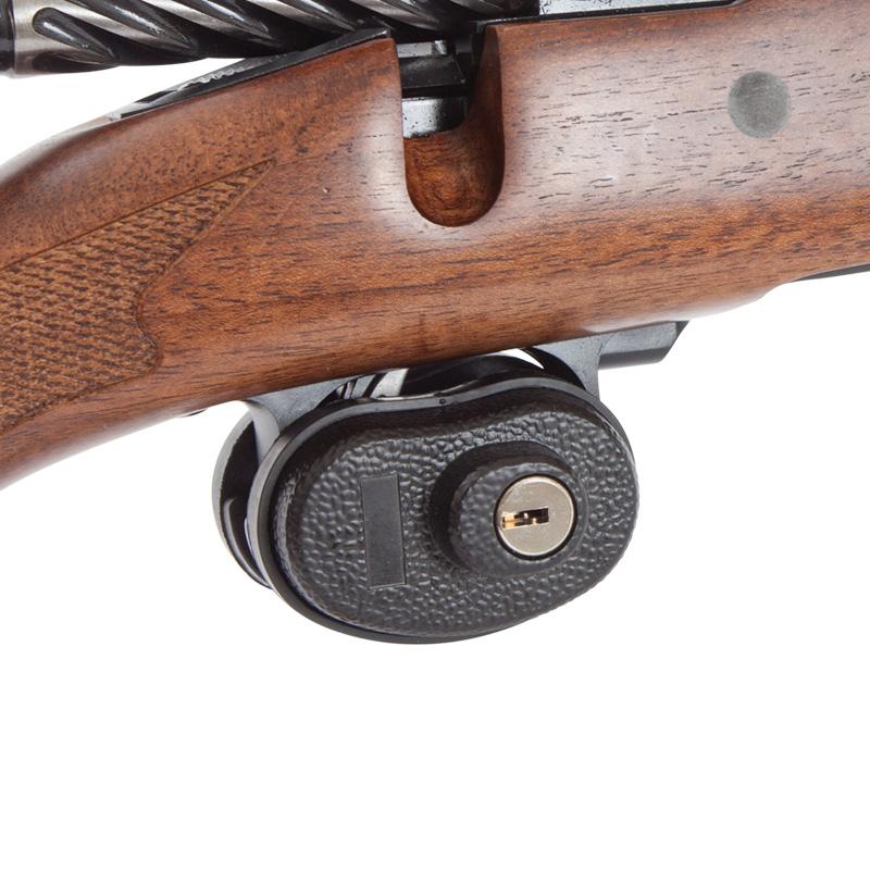 trigger lock on rifle